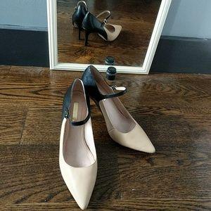 Colorblock heels Louise et Cie